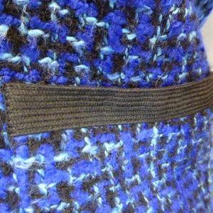 J. Crew Jackets & Coats - J CREW BLUE BLACK TWEED JACKET braid trim 6